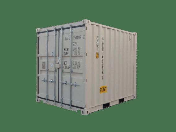Photo of 10 ft storage unit.