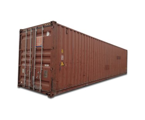Photo of a 40ft storage unit.