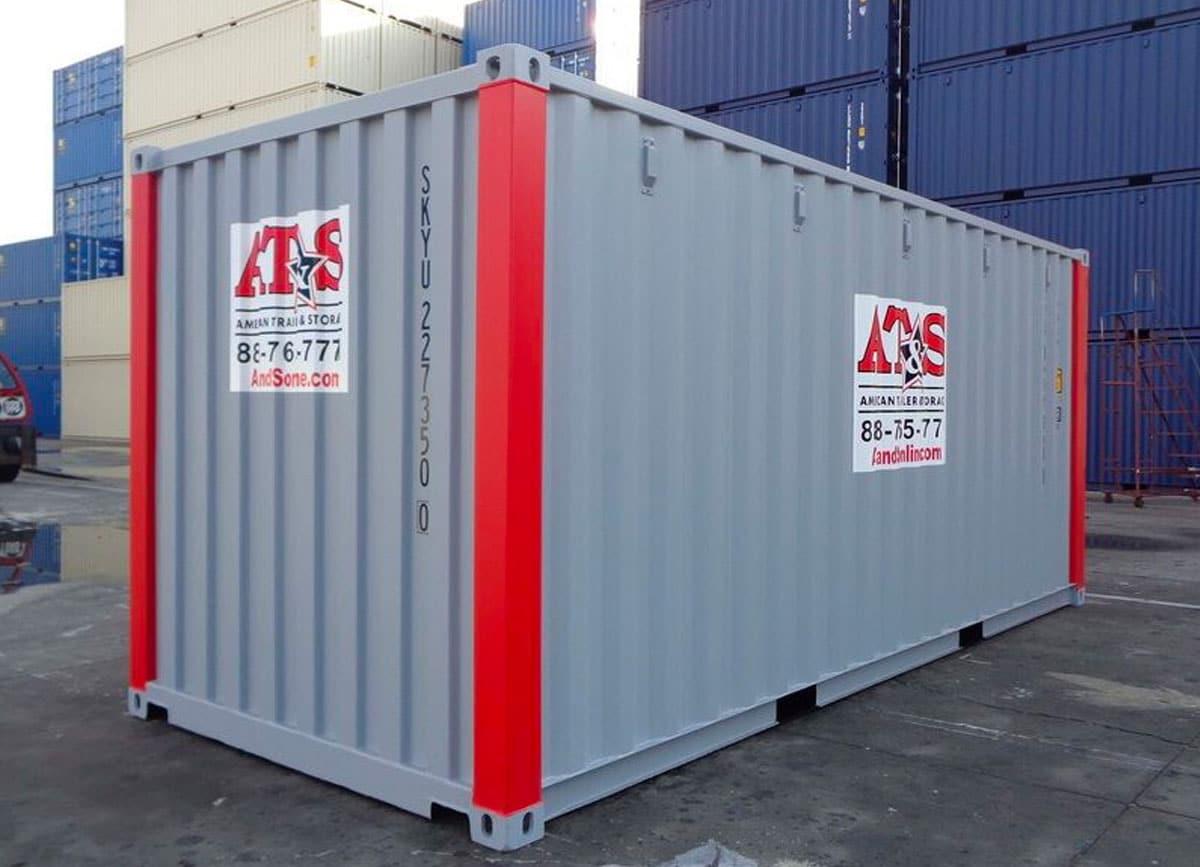 AT&S storage unit.