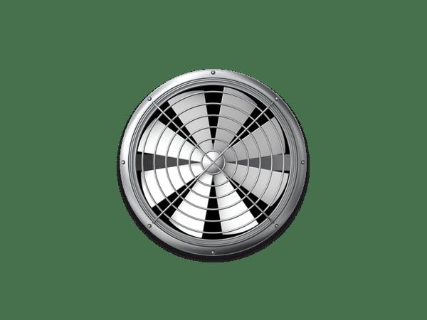 Photo of a ventilation fan.
