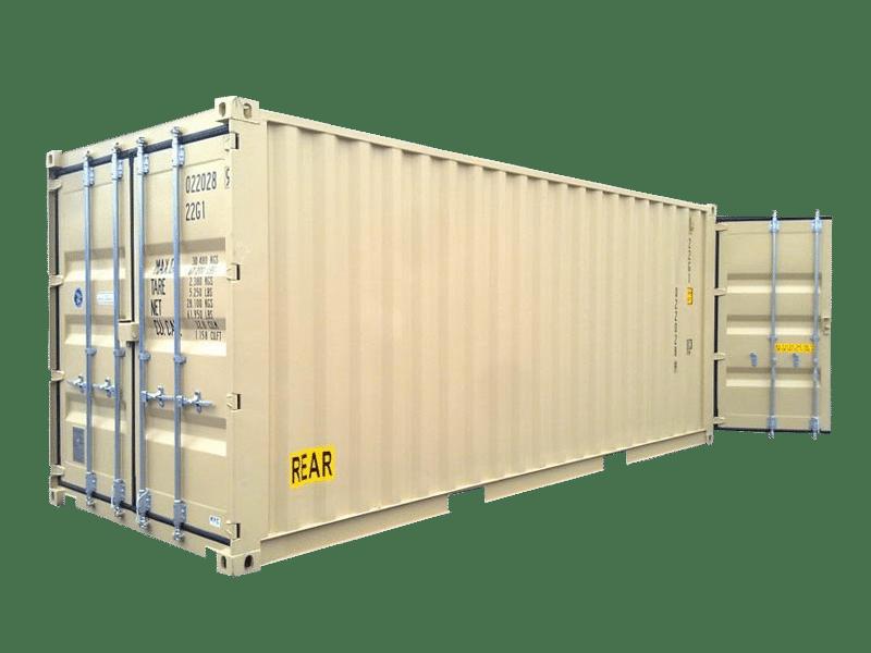 Photo of a storage unit.