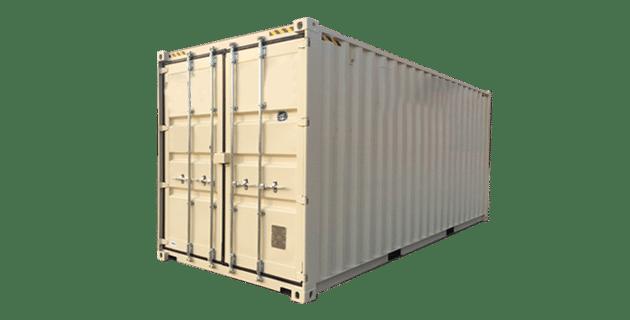 Photo of a 20ft storage unit.